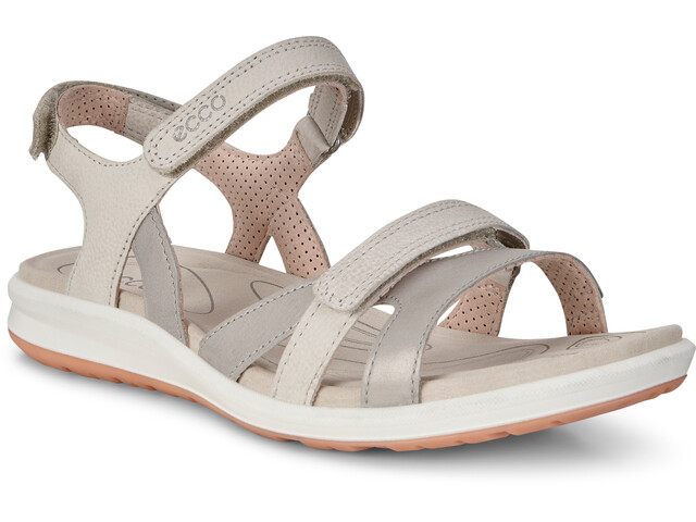 size 40 12527 b1f1e ECCO Cruise II Sandals Women siver grey/gravel/rose dust